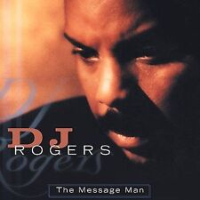 The Message Man: The Best of DJ Rogers (CD, 1998, Columbia/Legacy) SEALED NEW!