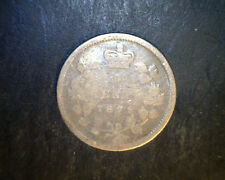 1872-H Canada, 5 Cents, .0346  oz Silver (Can-443)