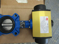 Double Acting Pneumatic Actuated Butterfly Valve EPDM Liner 7998825