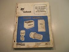 ! BOBCAT 630-730 640-740 AND 750 SERIES ATTACHMENTS PARTS MANUAL