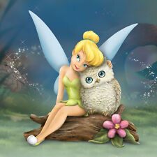 DISNEY TINKERBELL Owl Always Love You Figurine NEW