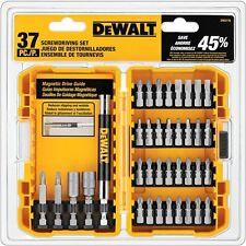 Screwdriving Set, DEWALT 37-Piece DW2176 Magnetic Drive Guide, Includes Case