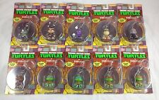 Complete Set of 10 Kidrobot TMNT Keychains Urban Vinyl Art Toy Action Figure Lot