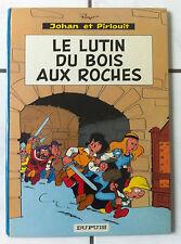 """EO JOHAN ET PIRLOUIT T3 """"LUTIN DU BOIS AUX ROCHES""""-PEYO-DUPUIS 1967-4 RECITS SUP"""