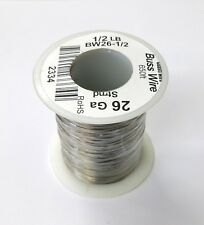 NEW 26 Gauge Tinned Copper Bus Wire, 1/2 Pound Roll (650' Approx. Length) 26AWG