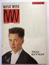 MUSIC WEEK MAGAZINE  SEPTEMBER 23 1989  DOOLEY'S DIARY   LS
