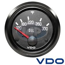 VW BUG AIR COOLED, VDO COCKPIT OIL TEMP GAUGE 300 DEGREE 310012