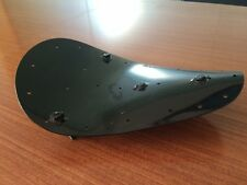DEEP DISH SOLO SEAT PAN HARLEY CHOPPER BOBBER WITH MOUNT STUDS WITH NUTS &WASHER