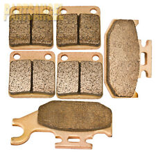 Front Rear Sintered Brake Pads -2000 2001 2002 Yamaha YFM 400 Kodiak 4x4 Hunter
