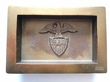 New Ralph Lauren RRL Eagle Design Brass Metal Ashtray