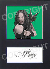 DIMEBAG DARRELL Heavy Metal Pop Art Signed Autograph Reprint From Original A4