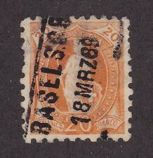 KAPPYSSTAMPS  ID3480 SWITZERLAND 89 USED VF VERY FINE CATS 125.00