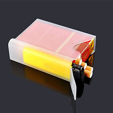 New Clear Plastic Cigar Cigarette Box Holder Pocket Tobacco Storage Hard Case
