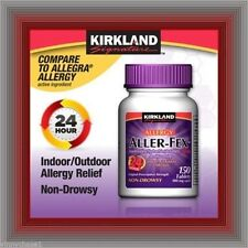Kirkland Signature 180mg  Aller-Fex, 150 Tablets -save now