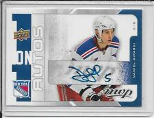 08-09 Upper Deck MVP Daniel Girardi/Mark Fraser One On One Autos