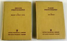 SET OF TWO FLASH PHOTOGRAPHY BOOKS