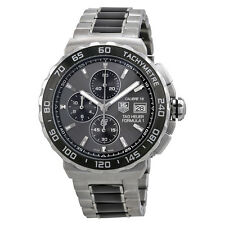 Tag Heuer Formula 1 Anthracite Dial Stainless Steel and Ceramic Chronograph Mens
