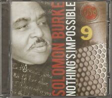SOLOMON BURKE Nothing's Impossible CD 12 track 2010 Willie Mitchell