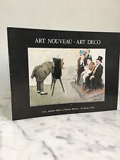Catalogue de vente Art Nouveau - Art Déco Rive Gauche 24 Février 1979