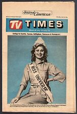 Tv Guide~Miss Universe~Finland~Anne Marie Pohtamo~Family Fued~Pete Rose~1976