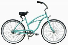 "NEW 24"" Women Beach Cruiser Bicycle Bike Firmstrong Urban Green"