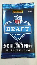 NFL DRAFT 2016  PANINI PACKS FROM CHICAGO DRAFT 5 PACK LOT
