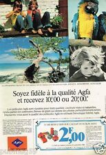 Publicité advertising 1980 Film Photo pellicule Agfa Gevaert