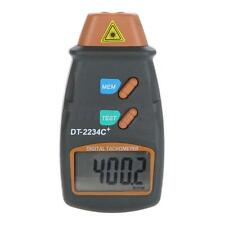 New Handheld Digital Laser Photo Tachometer Non Contact RPM Tach Meter Tester