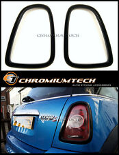 MK2 MINI Cooper/Cooper S/ONE R56 R57 R58 R59 BLACK Taillight Rear Light Surround