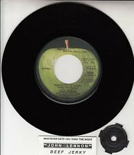 "JOHN LENNON  Whatever Gets You Thru The Night BEATLES 7"" 45 record NEW (Through)"