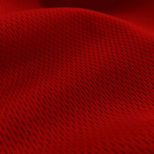 Red Dimple Mesh Fabric Sports Mesh for Athletic Apparel Jersey Material Per Yard