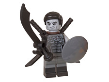 2017 Lego Ninjago Shade Minifigure with 3 Black swords & shield new