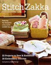 Stitch Zakka 10939 - Softcover Book FREE US SHIP