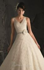Mori Lee Lace Ivory Wedding Dress