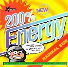 200% Energy Various Artists Audio CD
