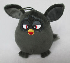 2012 Furby Black Soft Plush Toy Doll 5.5 inch Cuddly Furby (No Sound)