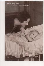 Vintage Postcard Princess Astrid of Sweden Queen of Belgium & Prince Albert
