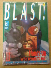 BLAST! #1 1991 JUNE FN JOHN BROWN US MAGAZINE KEVIN COSTNER