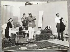 Photo originale MON ONCLE Jean-Pierre Zola JACQUES TATI 1958