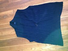 Chaps by Ralph Lauren Navy Cable Knit Vest, medium