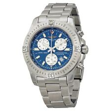 Breitling Colt Chronograph Blue Dial Stainless Steel Watch A7338811-C905SS