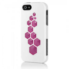 Incipio CODE for iPhone 5 Optical White / Charcoal Gray / Cherry Blossom Pink