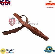 NEW BRITISH INFANTRY TAN BROWN LEATHER SWORD KNOT /British Army Sword Knot Brown