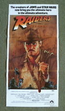 RAIDERS OF THE LOST ARK ~ ORIGINAL 1981 AUSTRALIAN DAYBILL MOVIE POSTER