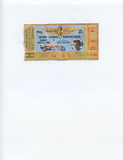 1980 INDIANAPOLIS 500 AUTO RACE TICKET STUB (JOHNNY RUTHERFORD WINNER)