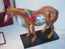 """Trail of Painted Ponies #12208 """"Reunion of the family man"""" 2005 Retred w/box"""