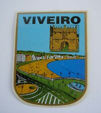 Blason autocollant VIVEIRO SPAIN sticker héraldique blason wappen coat of arms
