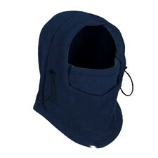 6in-1 Fleece Ski Face Mask Balaclava Hood Neck Warmer Snow Wind Stopper blue N3
