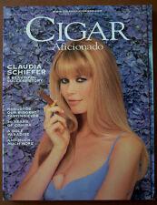 Cigar Aficionado Magazine Aug 1997 Claudia Schiffer Robustos 30 Years of Cohiba