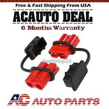 Battery Quick Connect Plug 2-4 Gauge Driver Kit Recovery Winch Trailer 175 amps@